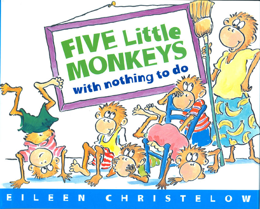 Stupendous Five Little Monkeys Bake A Birthday Cake Eileen Christelow Personalised Birthday Cards Vishlily Jamesorg