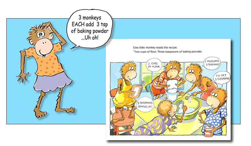 Marvelous Five Little Monkeys Bake A Birthday Cake Eileen Christelow Personalised Birthday Cards Vishlily Jamesorg